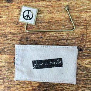 New Peace Sign Metal Purse Handbag Hanger